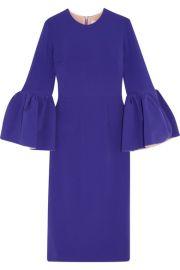Roksanda - Margot crepe dress at Net A Porter