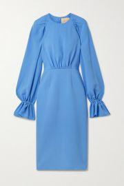 Roksanda - Vaniria gathered cady dress at Net A Porter