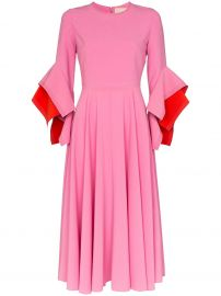 Roksanda Asymmetric Sleeve Dress at Farfetch