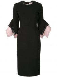 Roksanda Layered Sleeve Dress at Farfetch