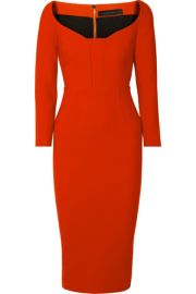 Roland Mouret - Ardon crepe dress at Net A Porter