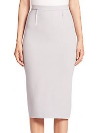 Roland Mouret - Arreton Wool Pencil Skirt at Saks Fifth Avenue