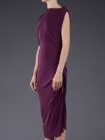 Roland Mouret Jersey Drape Dress at Farfetch
