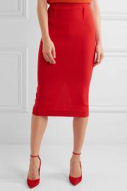 Roland MouretArreton Wool-Crepe Pencil Skirt at Net A Porter