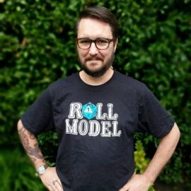 Roll Models T-shirt at Stand