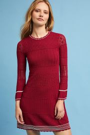 Roma Bell-Sleeve Dress by Shoshanna at Anthropologie