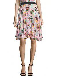 Romance Was Born - Rainbows Edge Eyeconic Pleated Skirt at Saks Fifth Avenue