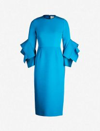Ronda neoprene dress at Selfridges