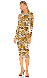 Ronny Kobo Noa Dress in Golden Multi from Revolve com at Revolve