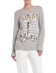 Rooney Owl Pullover by Bcbgmaxazria at Lord & Taylor