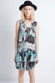 Rory Print Dress at Zadig and Voltaire