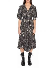 Rosabelle sequin-embellished woven midi dress by Maje at Bloomingdales