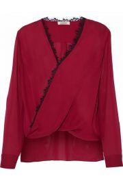 Rosario blouse by Lagence at The Outnet