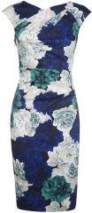 Rose Print Dress at Karen Millen