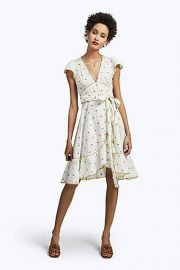 Rose flutter dress at Marc Jacobs