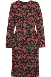 Roseline floral-print crepe midi dress at Net A Porter