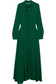 Rosetta Getty - Crepe maxi dress at Net A Porter