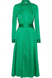 Rosetta Getty Apron Wrap Dress at The Outnet