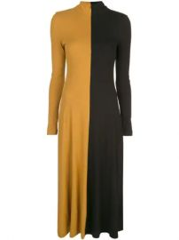 Rosetta Getty two-tone Jumper Dress - Farfetch at Farfetch