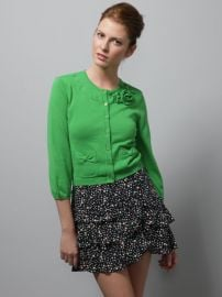 Rosette Tea Party Cardigan at Gilt
