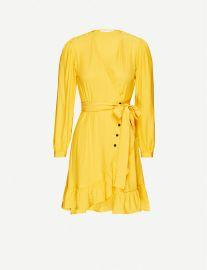Roseya V-neck woven mini dress at Selfridges