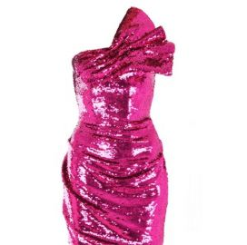 Rosheen Strapless Sequin Mini Dress by BW Closet at BW Closet