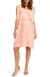 Rosie Pope Janie Maternity Dress in Orange at Nordstrom