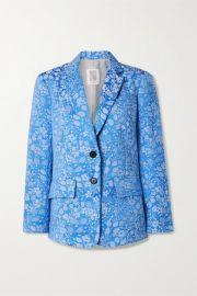 Rosie Assoulin - Floral-jacquard blazer at Net A Porter