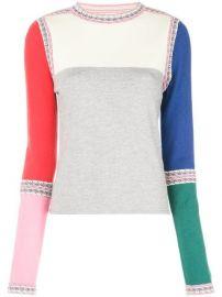Rosie Assoulin Colour Block Sweater - Farfetch at Farfetch