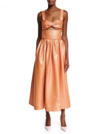 Rosie Assoulin Morning After Cutout Midi Dress at Bergdorf Goodman