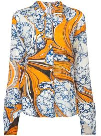 Rosie Assoulin Printed Shirt - Farfetch at Farfetch