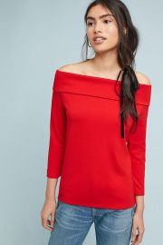 Rosiers Top at Anthropologie