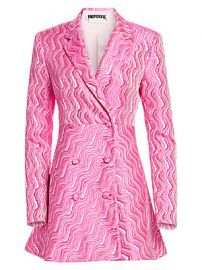 Rotate - N 23 Double-Breasted Jacquard Blazer Dress at Saks Fifth Avenue