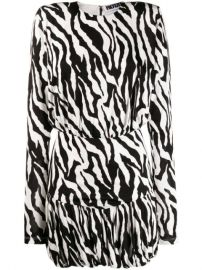 Rotate Zebra Print Mini Dress - Farfetch at Farfetch
