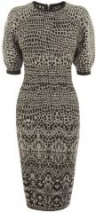 Rounded Shoulder Dress at Karen Millen