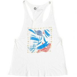 Roxy Juniorand39s Marine Park Hu Graphic Tank with Drop Armhole  at Amazon