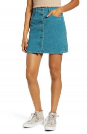 Roxy Unforgettable Fall Corduroy Miniskirt   Nordstrom at Nordstrom