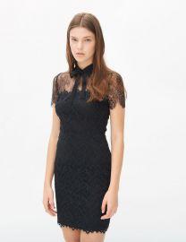 Rozen Dress in Black at Sandro