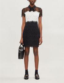 Rozen lace-panel dress at Selfridges