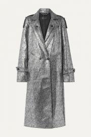 RtA - Andi metallic tweed coat at Net A Porter