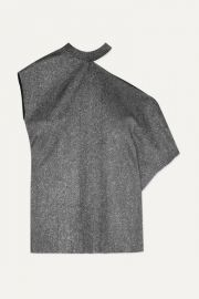 RtA - Axel one-shoulder cutout metallic jersey top at Net A Porter