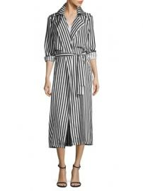 RtA - Karina Striped Jacket at Saks Fifth Avenue