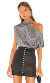 RtA Axel Top in Silver from Revolve com at Revolve