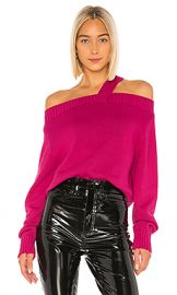 RtA Beckett Sweater in Magenta from Revolve com at Revolve