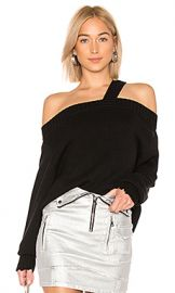 RtA Beckett Sweater in Uno Black from Revolve com at Revolve