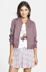 Rubbish Twill Bomber Jacket at Nordstrom
