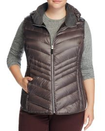 Ruby Hooded Puffer Vest by Marc New York Plus at Bloomingdales