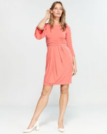 Ruched Bell Sleeve Dress by Eliza J at Century 21