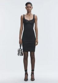 Ruched Bodycon Dress at Alexander Wang