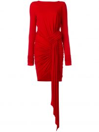 Ruched Jersey Dress by Alexandre Vauthier at Farfetch